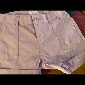 NWT- Lilac Shorts Sz 6X/7